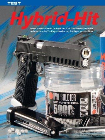 Airsoft-Pistole KJW Tokyo Soldier TS 8011 Match - Visier