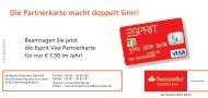 Zusatzkartenantrag - Santander Consumer Bank