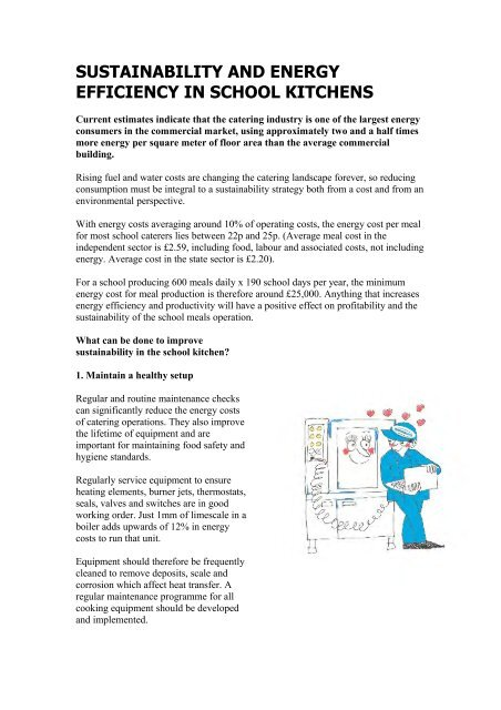 Sustainability and cooking kettles pdf - BGL Rieber