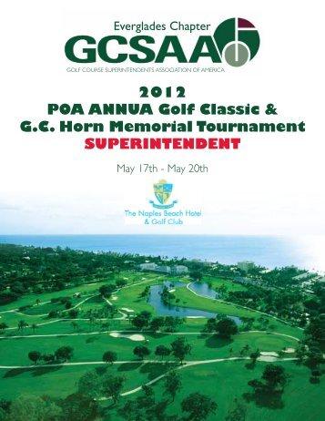 2012 POA ANNUA Golf Classic & G.C. Horn Memorial ... - Cybergolf