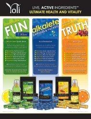 ultimate health and vitality - Yoli