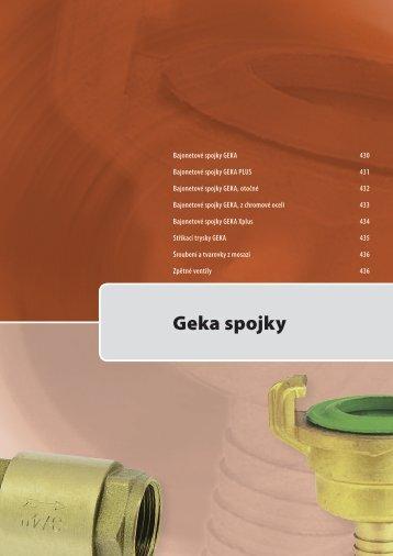 Geka spojky - VSK Profi
