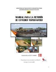 manual para la revisión de los estudios topográficos