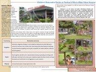 Children's Restorative Garden at Paediatric Ward of Batu Pahat ...