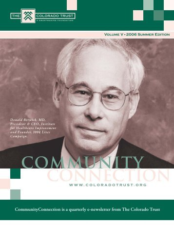 2006 Summer Edition - The Colorado Trust