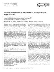 Full Article - Annales Geophysicae