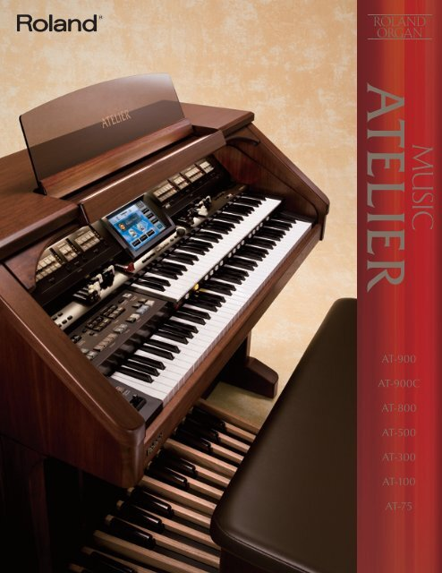 Roland AT-100 Music Atelier Drivers Mac