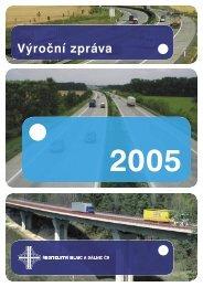 Výroční zpráva - Ředitelství silnic a dálnic