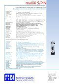 Maxxi 5/PIN - roentgenanalytik.de - Page 2