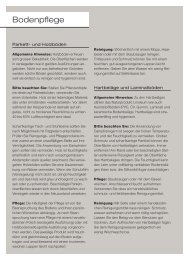 Bodenpflege - Download PDF (413 KB) - roesch-basel
