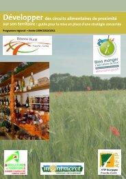 Développer des circuits alimentaires de proximité - Réseau Rural ...