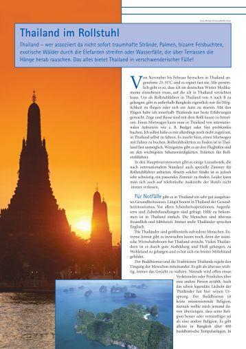 Thailand im Rollstuhl