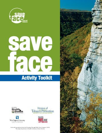 Save Face Activity Toolkit - DHHR