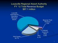 FY 2012 Annual Revenue and Expense Budgets - Louisville ...