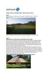 TOUR 1 Rotary: Jõelähtme Golf, Tallinn, Rocca al Mare Day 1 Bus ...