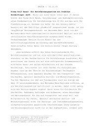 Presse - Rolf Bauer GmbH