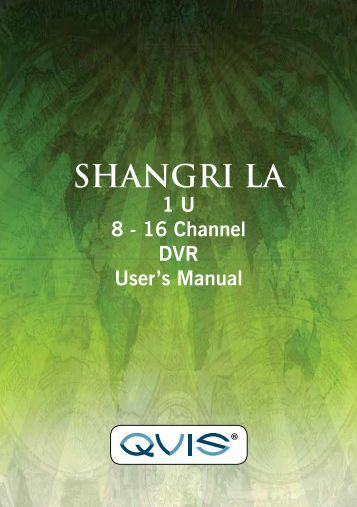 Shangri-La Manual - Qvis Security
