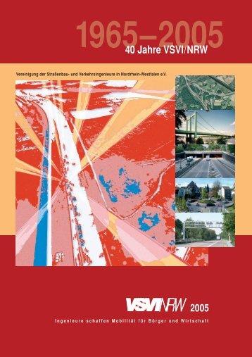 1965–2005 40 Jahre VSVI/NRW