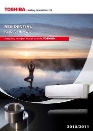 RESIDENTIAL 2010/2011 - Toshiba