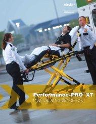 Performance-PRO™ XT manual ambulance cot - EMS Medical Italia