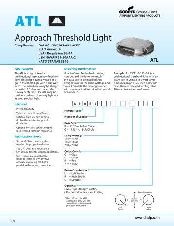 Approach Threshold Light FAA AC 150/5345-46: L ... - OkSolar.com