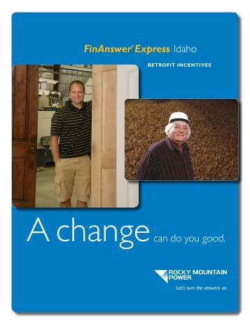 FinAnswer® Express - Rocky Mountain Power