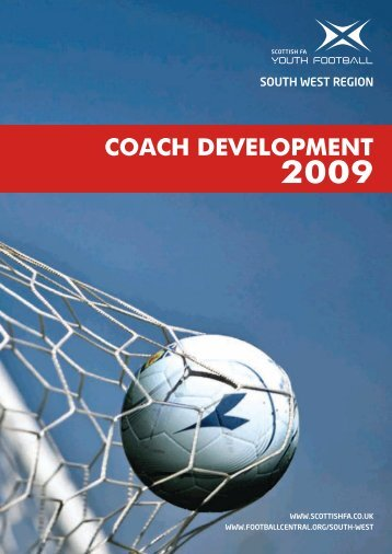 Coach development 2009 - Scottish Football Association