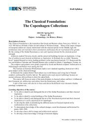 The Classical Foundation: The Copenhagen Collections - DIS