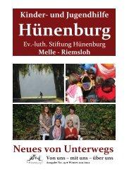 Neues von Unterwegs - Kinder- und Jugendhilfe Hünenburg Stiftung