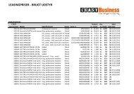 LEASINGPRISER - BRUGT UDSTYR - L'EASY Business