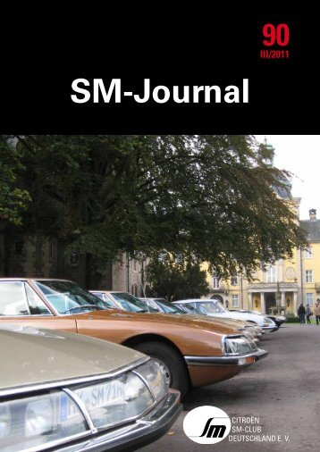 Magazin - Citroen-SM-Club Deutschland e.V.