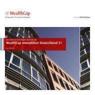 WealthCap Immobilien Deutschland 31 - Wealth Management ...