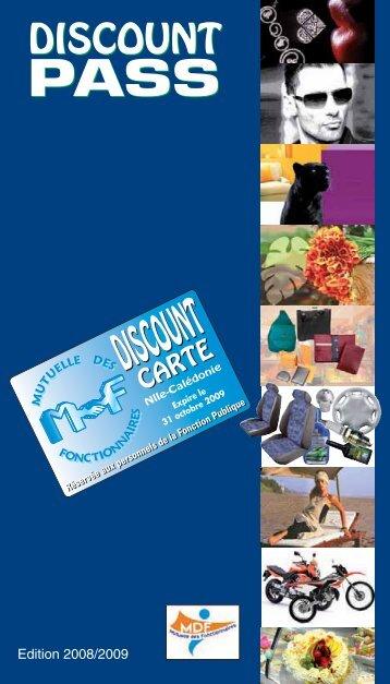 -Discount 2008 -10:Guide Discount Carte MEP/12 - Mutuelle des ...