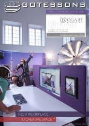 FROM WORKPLACE TO CREATIVE SPACE™ - Bogart.ru