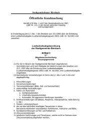 Lustbarkeitsabgabenordnung der Gemeinde Bärnbach (66 kB)