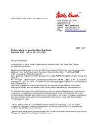 2007-11-27 Stellungnahme zur aktuellen Oeko ... - Spielwaren Heinz