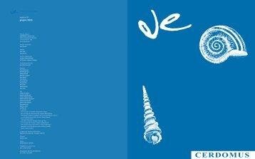 C M Y CM MY CY CMY K - CERDOMUS