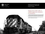 Industrial Outlook - Jones Lang LaSalle