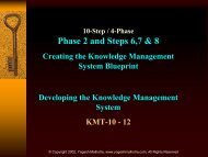 Phase 2 and Steps 6,7 & 8 - WWW Virtual Library on Knowledge ...