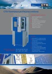 CTS-Temperatur-Prüfschränke