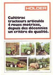 Holder Cultitrac 4x4 - Unusuallocomotion.com