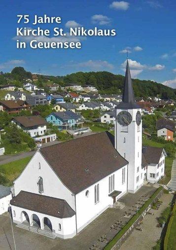 Pfarreischrift - Pfarrei Geuensee