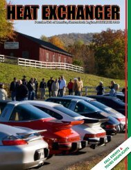 Fall events & tours highlights - Shenandoah Region Porsche Club of ...