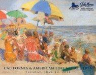 CALIFORNIA & AMERICAN FINE ART AUCTION