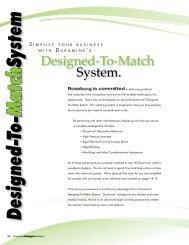 Designed-To-Match System - Roseburg