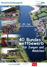 Rennen 5 Jung 2x 95/96 - Deutsche Ruderjugend