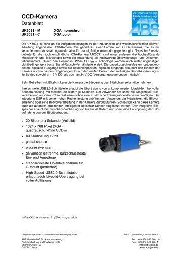CCD-Kamera - ABS-Kameras