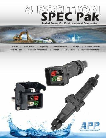 DS-4 Pos SPEC Pak - Wes-Garde Components