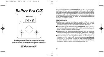 Rolltec Pro G/S