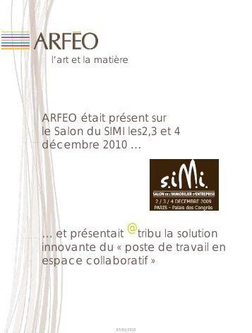 ARFEO était présent sur le Salon du SIMI les2,3 et ... - Arféo Buroform